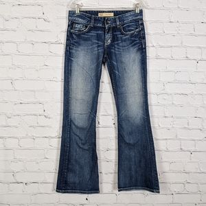BKE Denim Culture Distressed Bootcut Jeans 28x31½